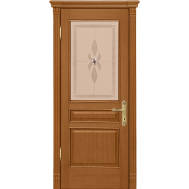 Дверное полотно Рада Палермо исп.3 вар.2 ДО макоре золотой